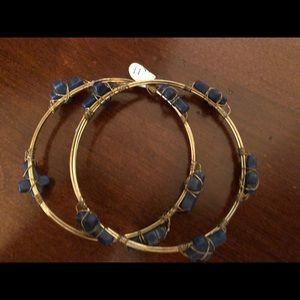 Jewelry - Cross bracelets with Blue Lapis Brand New